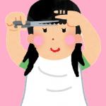 セルフで女性のヘアーをカットする方法は?